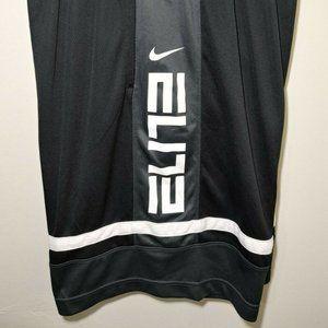 Nike- Men's Black/Gray Block Style Elite Shorts